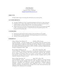Cover Letter Resume Examples For Restaurant Manager Sample Resume