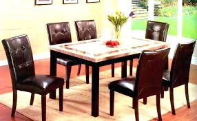 black round dining table with leaf high top room set