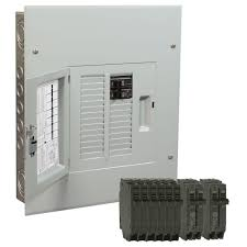 125 breaker boxes power distribution the home depot circuit breaker which way is on at Main Breaker Fuse Box