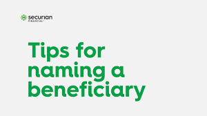 Learn vocabulary, terms and more with insurance companies do not restrict a life insurance applicant's selection of a beneficiary. Tips For Naming A Beneficiary Securian Financial