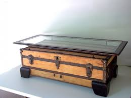 decor of antique trunk coffee table large coffee table flat top 101 r i x o n t a b l e s home