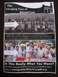 Racist Brampton Flyer Broke No Laws Police Say The Star