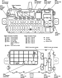 i am looking for a fuse diagram for a 1993 honda civic lx 4 dr sdn