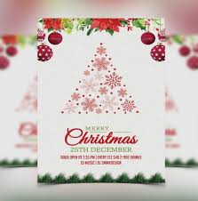 Christmas Template For Word Simple Christmas Template Free Penaime