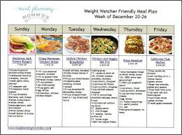 Weight Watcher Friendly Meal Plan 1 With Beyond The Scale