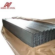 shandong produce galvanized corrugated metal roofing sheet and galvanized zinc roof sheets