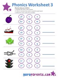Phonics Worksheets | guruparents