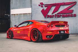 Liberty Walk Ferrari F430 Screams For Attention Kit Costs 20 000 Autoevolution