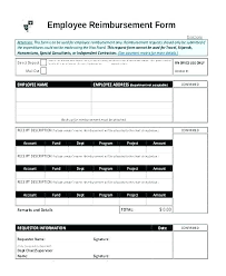 Expense Ent Form Template Mileage Claim Travel Expenses