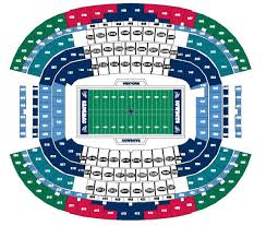 Cowboys Stadium Chart Ideas Dallas Cowboy Stadium Seating Chart With Interactive