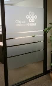 office glass door design. Etched Frosted Glass Vinyl On Office Wall Door Design S