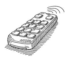 remote control drawing. remote control drawing