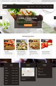 Restaurant Website Templates Interesting 28 Restaurant HTML28 Website Themes Templates Free Premium