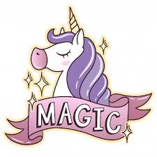 Unicorn Background Design Vector Premium Download