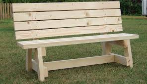 Small Picture Simple garden bench seat Project metric version