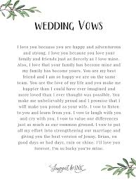 personalized real wedding vows that you'll love snippet & ink Wedding Vows Non Denominational i vow to put all my effort into strengthening our marriage and giving you the best version of jenny brian, on good days or bad days, rain or shine non denominational wedding vows examples