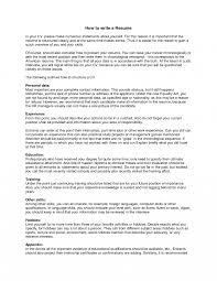 Resume Sensational How Write I Need To Make Templates Summary With