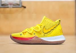 A turma do Bob Esponja virou o novo tênis Nike de Kyrie Irving, e o jogador  diz em que posição joga cada personagem! - Epicbuzzer