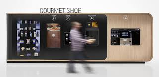 Premium Gourmet Coffee Vending Machine Beauteous Button Gourmet By Mormedi Is The Vending Machine For Those With A