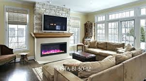 30 inch electric fireplaces inch linear electric