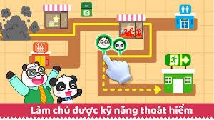 Trò chơi An Toàn Cho Trẻ của Bé Gấu Trúc cho Android - Tải về APK
