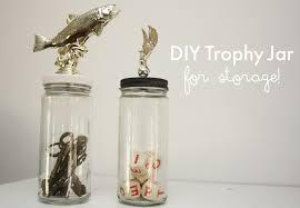 diy trophy jar for storage