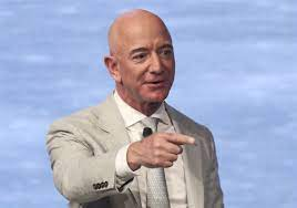 Jeff Bezos becomes first person ever to ...