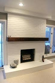 brick wall fireplace create an elegant statement with a white brick wall design ideas painted brick