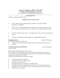Clinical Research Coordinator Resume Sample Nursing Student Resume Clinical Experience New Clinical 19