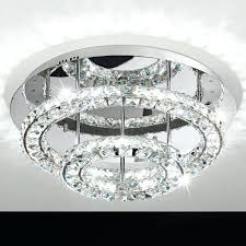 flush ceiling crystal chandeliers round led crystal flush ceiling light from lights 4 flush ceiling crystal flush ceiling crystal chandeliers