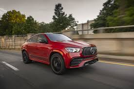 Sporty amg steering wheel, carbon fiber trim lift ambiance. 2021 Mercedes Amg Gle 53 Coupe Review Carprousa