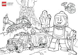Lego City Undercover Coloring Pages At Getdrawingscom Free For