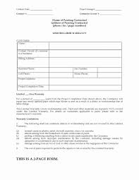 Roofing Contract Template Roofing Contract Form Samples Roof Template Awesome New Image