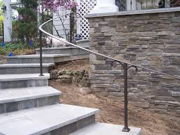 Wrought Iron Handrails Exterior Curved Wrought Iron Handrails Wrought Iron Handrail