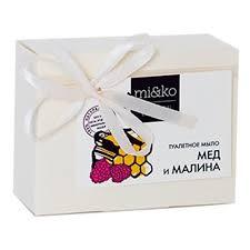 Туалетное <b>мыло</b> MI&KO <b>Мед и малина</b>, 75 г — купить в интернет ...