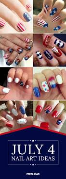 Even More Inspiration For Your July 4 Nail Art | Nail art, Beauty ...