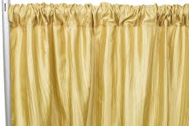accordion crinkle taffeta 10ft h x 54 w d backdrop panel gold