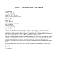Nonprofit Cover Letter Sample Guamreview Com