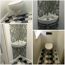 corner sinks for small bathrooms. Small_bathroom_tilestyle.jpg Corner Sinks For Small Bathrooms
