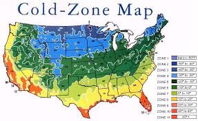 Us Growing Zone Chart Cold Zone Chart