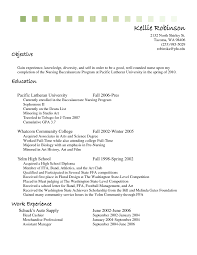 Resume Objective Examples For Cashier Listmachinepro Com