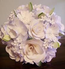 Paper Flower Bouquet Etsy White Paper Flower Bouquet