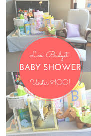 Low Budget Baby Shower - How to host a gorgeously frugal baby shower for  UNDER $100