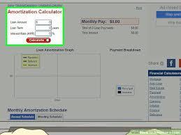 Amortization Schedule Calculator Free Online Loan – Onbo Tenan