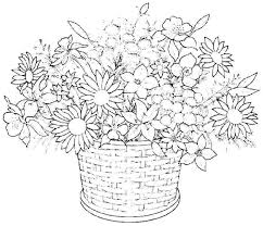 Detailed Flower Coloring Pages For Adults Printable Rose