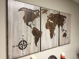 maps wall art