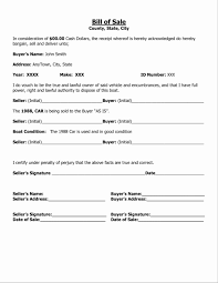 Basic Bill Of Sale Template 24 Unique Car Bill Of Sale As Is Davidhowald Davidhowald 10