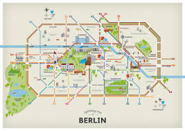 sightseeing map of berlin attractions  getyourguidecom