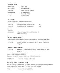 Best Photos Medical Template Curriculum Vitae Physician Resume