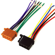 feeldo car accessories 1 pcs car audio stereo wiring harness for pioneer radio wiring harness adapter at Car Audio Wiring Harness